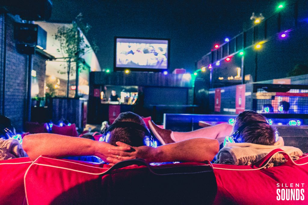 Silent Cinema, Outdoor Cinema, Rooftop Cinema